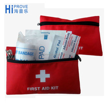 Small Mini Pet Car Vehicle Home Family First Aid Kit Pouch Bag (FAK-1005)