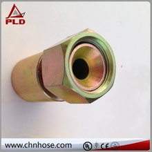 Factory produced metric male with bonded seal coupling