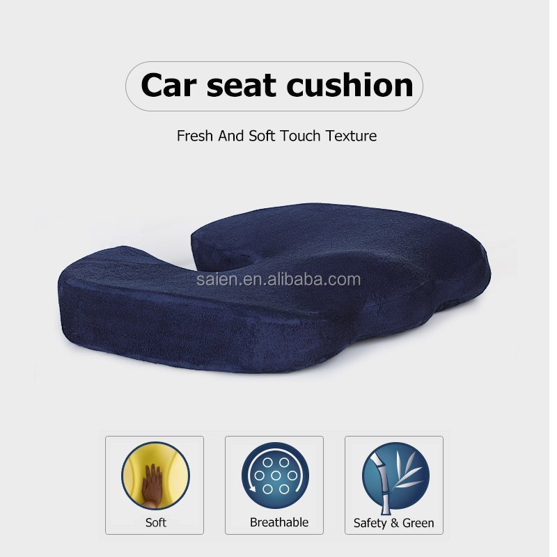 Comfortable memory foam elderly therapeutic seat cushions