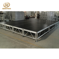 Best Selling Aluminum Stage Cheap Portable Dj Stage for show