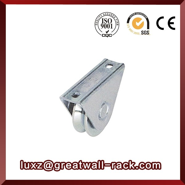 Stainless steel sliding roller hanger door drawer sliding roller caster wheel use for furniture