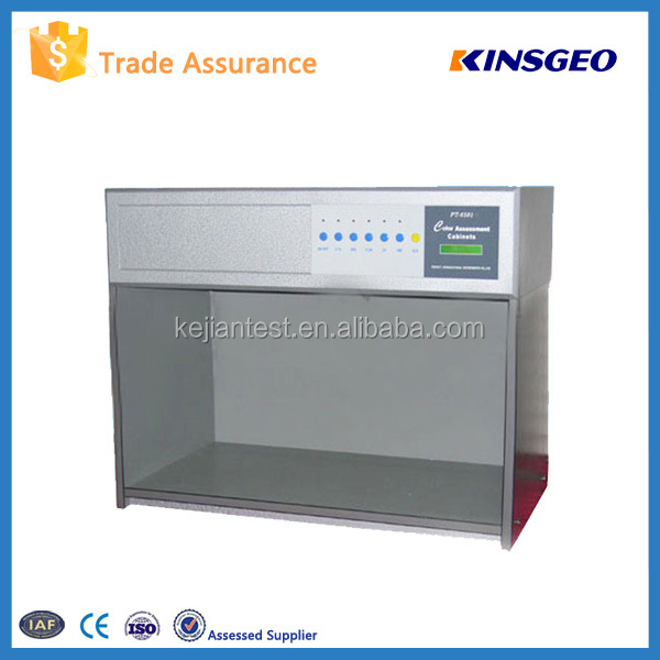 Color Assessment Cabinet Cheap Price KJ-6501 Color Matching Cabinets