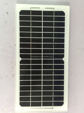 low price 5w solar panel small size tempered glass pv modules for bangladesh