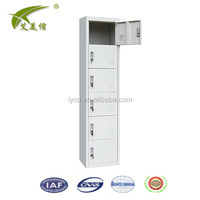 Modern Design Metal Commercial Furniture 6 Doors Filing Cabinet Office /Clothes Wardrobe Locker