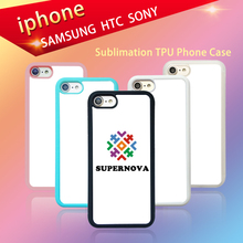 2D Sublimation Phone Case Custom, Hard PC Sublimation Case and Soft TPU Rubber Sublimation Cover Available