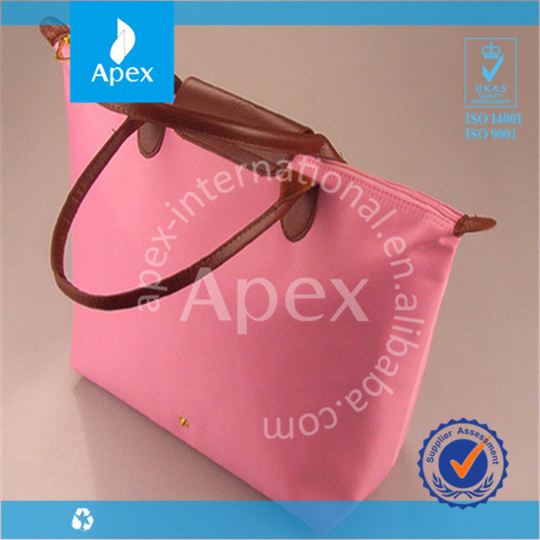 2016 hot selling pu leather tote handbags lady fancy bags