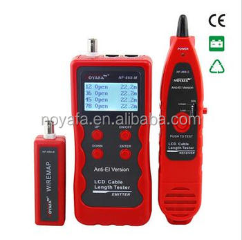 NOYAFA NF-868 Multipurpose digital Cable Tracker for Length test Finding Natowrk cable tester RJ45 tester Lan tester