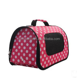 Breathable Portable cheap pet travel bag dog carry