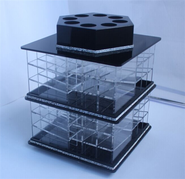New products retail display acrylic wholesale rotating - Acrylic desk organizer set ...