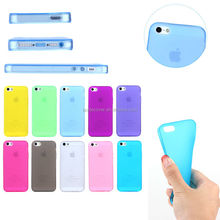 Fast Delivery and Low MOQ Cheap Multi Color Matte TPU Case for iPhone 5/5s