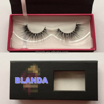 Private label 3D mink eyelashes False eyelashes go with comfortable feelings and amazing looking