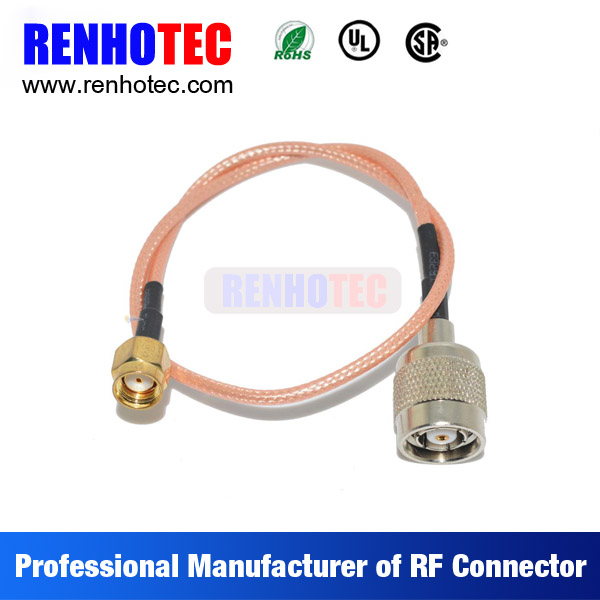 N type to SMA coaxial wire rope connectors, cable connector, electrical cable couplers