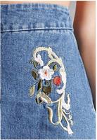 Fashion Wax Women's Juniors Stetchy Mid Rise Denim Shorts