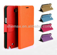 New flip cover for samsung galaxy Note2 for Samsung N7100