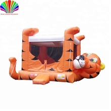 inflatable animal themed story slide combo bouncer Bouncy Castle
