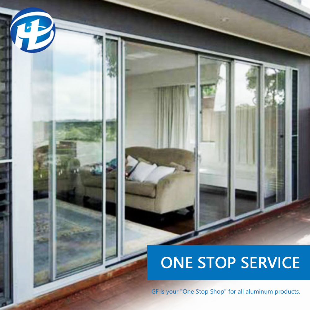 inside doors wide commercial windows and Doors Australian Standard size Anti-Noise Glazing Aluminium Sliding Doors And Windows