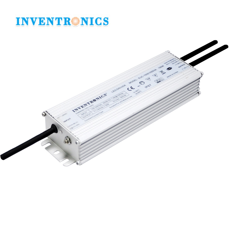 Inventronics 75W-150Watt/ 150W LED Driver IP67 Waterproof Constant Current LED Power Supply 0-10V Dimmer Controller