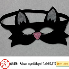 hot sale Beautiful handmade felt eye mask for masquerade Party
