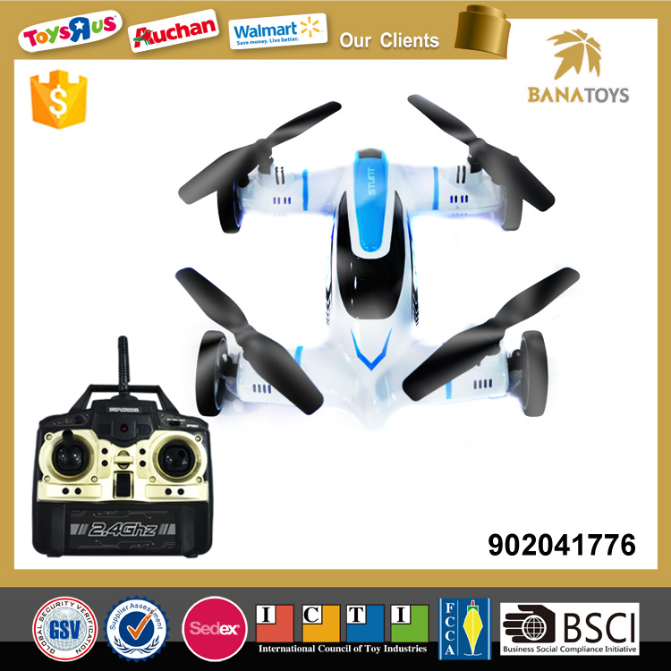 Popular 4 CH flying car toy drone for kid