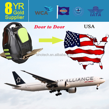 Air Freight shipping rates for electric scooter to USA,including VAT&Duty--Whatsapp:86-13631271869