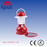 5W Rechargeable LED Camping Solar Camping Lantern (KW-1300S)