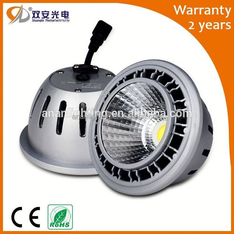2015 new products ar111 led g53 12 volts led 15 watts OEM ODM