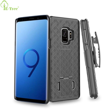 Foldable Kickstand Rotation Belt Clip Function Rugged Holster Phone Case For Samsung Galaxy S9