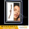 Innovative product crystal LED frame light store advertising photo frames magnetic led menu board a1