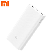 Xiaomi Power Bank 20000mAh 2C Portable Quick Charger Dual USB Mi External Battery Bank 20000 for Mobile Phones and Tablets