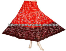 Indian Rajasthani Cotton Skirts , Summer Cool Skirts Collection