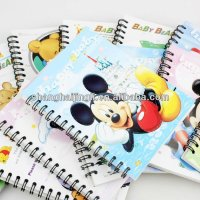 Cute design exercise note book,book cover,notebook for students
