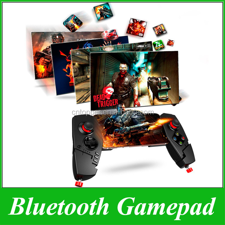 iPega PG-9055 Wireless Bluetooth Game Remote Controller Portable PS4 Gamepad Joystick for Android TV Box IOS PC