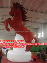 New Design Inflatable Running Horse with Free Blower