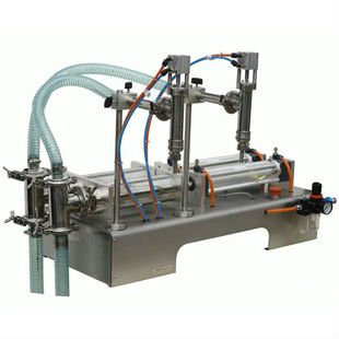 Pneumatic liquid filling machine for milk,oils, ointment, honey(CE certificate)
