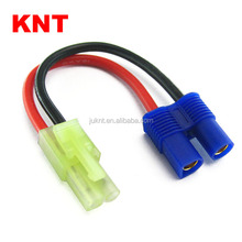 KNT KT-81829B RC Conversion Adapter wire 3.5mm connector EC3 female /Micro Tamiya plug male For RC Car /Truck