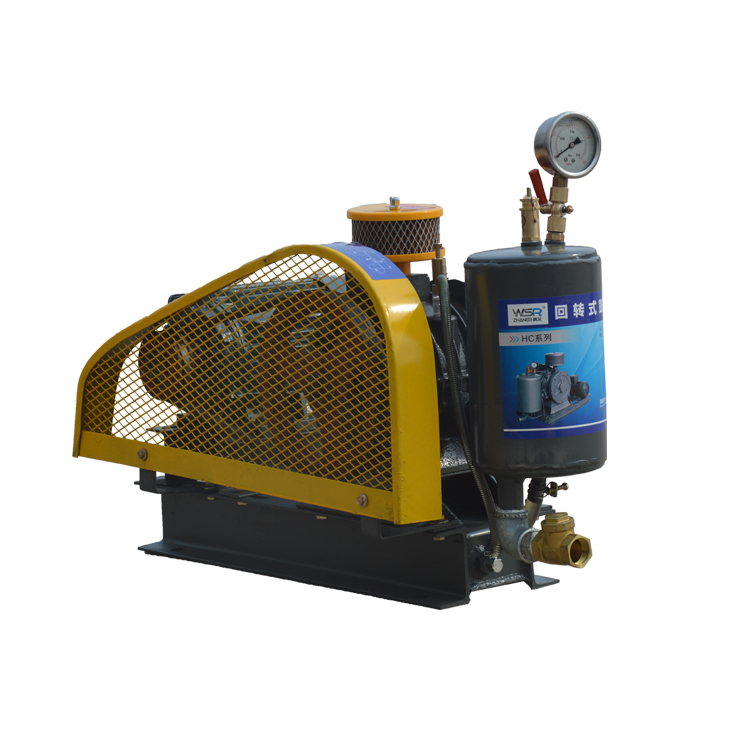 Silent type rotary heavy duty industrial air blower price