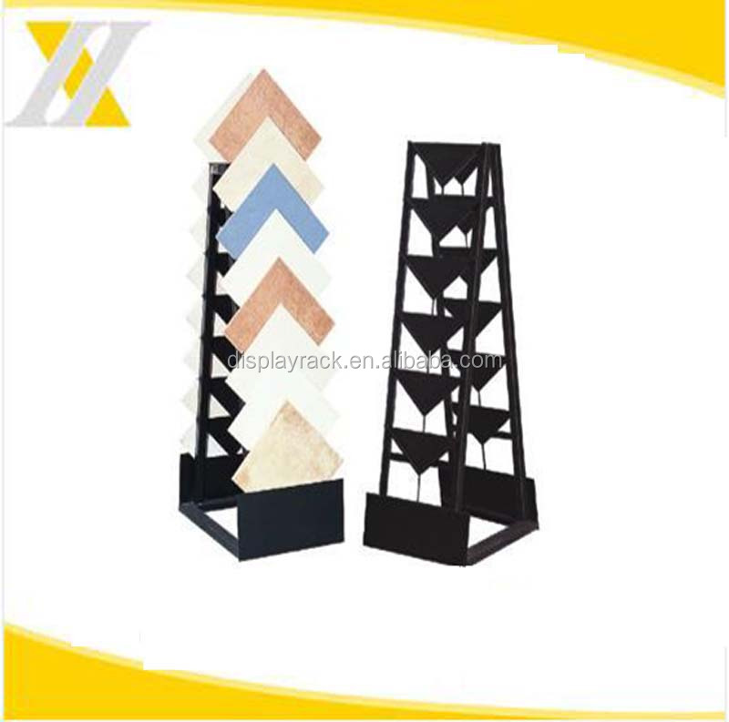 Popular used in retail shop Multifunctional Durable Practical Ceramic tile display frame