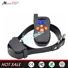 electric no shock stick collar wide 300M dog remote collar for dog labrador good price
