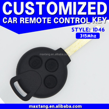 Car Smart Key 315Mhz ID46 3+1 Buttons 4 Buttons Car Smart Key for Benz Mercedes Car Smart Key MTF-100304
