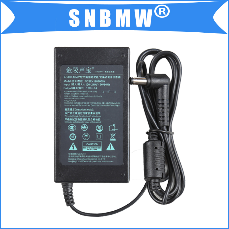 New 12V 3.0A 36W AC Power <strong>Adapter</strong> For POS Machine