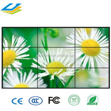 Whole sale 49 inch urtal narrow digital splicing 3x3 HD LCD video wall with intelligence control