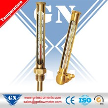 CXM Metal sleeve type industrial glass thermometer