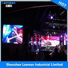 p4 video function and full tube chip color outdoor led screen display stair dance floor Novastarled