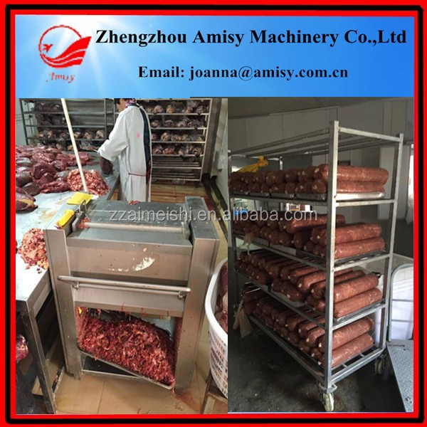 Fully automatic fish hamstring machine beef steak tenderizing machine