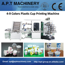 Plastic Cup/Glass/Lid/Cover/Bowl/Bucket Printing Machine(Curved Offset)
