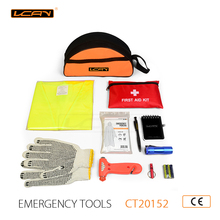 VCAN Hot Selling and Cheap Car Emergency Tool Kit and Mini Emergency Kit for survival and Auto Energency kit