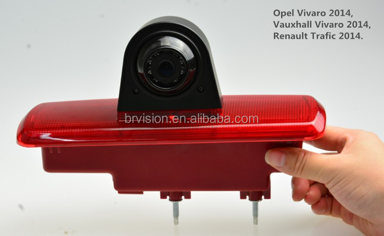 DC 12V Voltage brake light camera are suitable for renault trafic