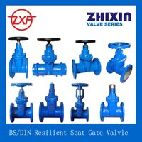 flanged ductile iron gate valves