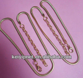 2 mm Round snake chain for jewelry chain,necklace chain