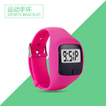 TOP selling high quality 3D digital bracelet pedometer use for sports
